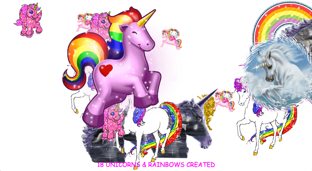 Unicorns and rainbows